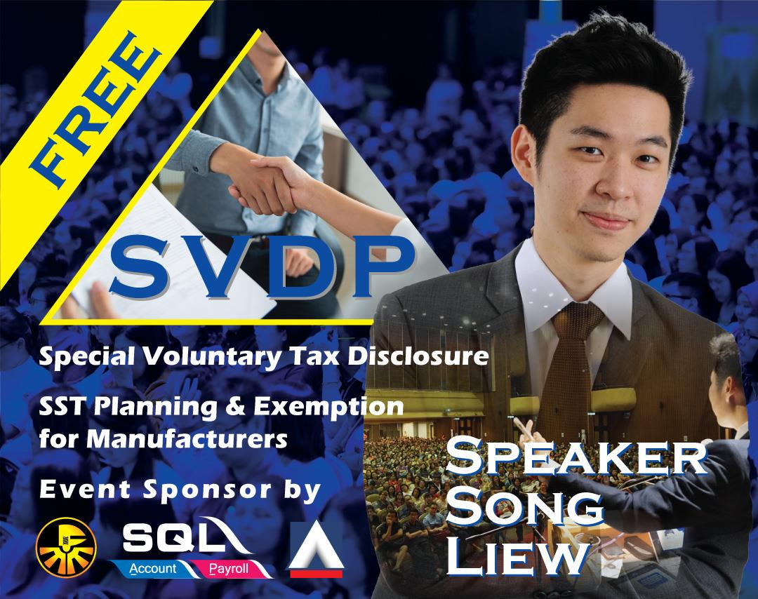 Special Voluntary Tax Disclosure (SVDP)